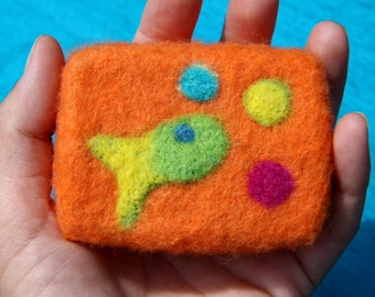 Felted Soap, Wool Felted Soap, Soap