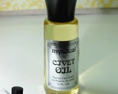 Picture of vintage civet oil perfume bottle