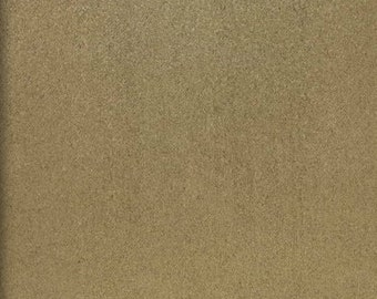 """60"""" Wide Camel Polyester micro faux suede upholstery fabric by the yard"""