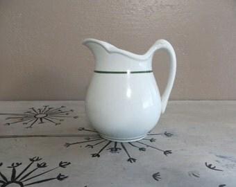 Stoneware Pitcher Stoneware Creamer Restaurant Ware Pitcher Restaurantware Creamer Flower Vase Flower Pitcher