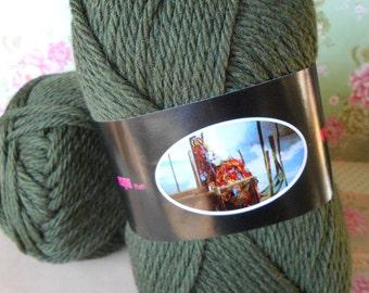 Blend Wool Green Balls 7oz. gr.200