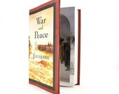 Hollow Book Box  - War and Peace  by Leo Tolstoy - Large