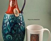 Bay Keramik West German Pottery Vase Shape 77
