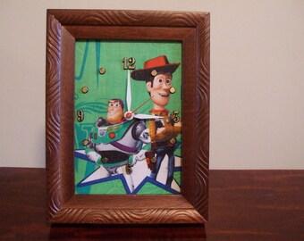 Toy Story Desktop Clock - Now 35% OFF