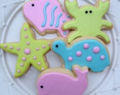Preppy Sea Cookies