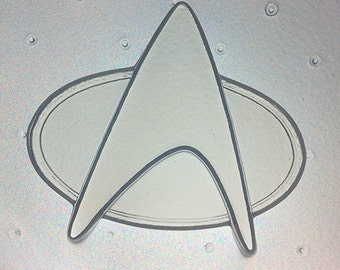 Flexible Resin Mold Space Badge Mould