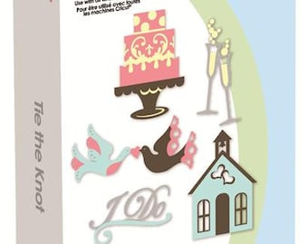 Cricut Tie the Knot Cartridge - Brand New - In Blister Package - Perfect for Wedding and Bridal Showers