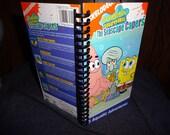 Spongebob Squarepants VHS notebook