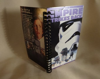 Star Wars The Empire Strikes Back VHS Notebook