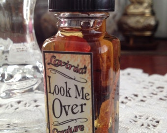 Look Me Over oil - Get the attention you want - Attraction - Drawing - Hoodoo - Folk magic - Conjure - Witchcraft - Pagan - Wicca