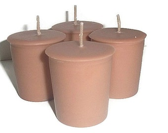 GINGER PEACH votives - August Fragrance of the Month, 15% off