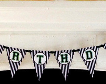 Tailgating Football Sports Theme Birthday Party Banner
