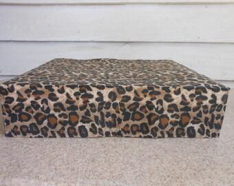 CHEETAH Print X-Box 360 Dust Cover, Handmade, Supplies