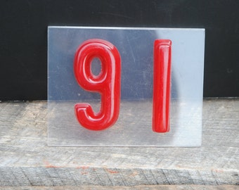 Vintage Handmade House - Lucky Number 16 or 91