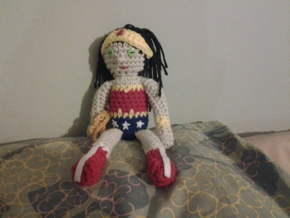 Crochet Wonder Woman By Babegia On Etsy