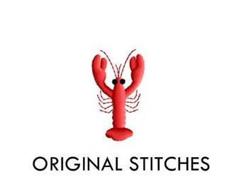 Crawfish Crayfish Mini Machine Embroidery Digital Design File