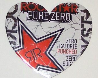 Big Heart Magnet - Rockstar Energy Drink Can
