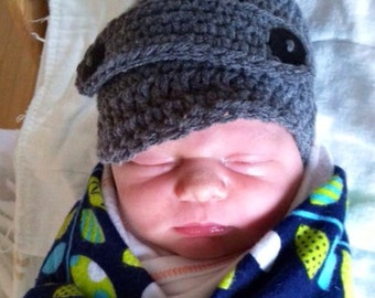 Newsboy Baby Hat in Newborn,Infant, Toddler and Child sizes