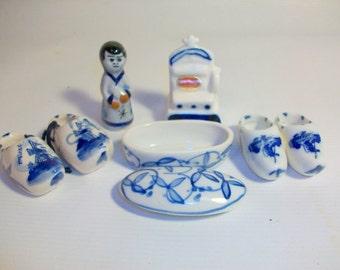 Instant Collection of Miniature Delft Porcelain | Delft Blue Collection