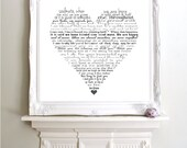 Soulmate by Steve Maraboli. Perfect wedding, anniversary gift Art Print Typography Poster.Lots of sizes available.