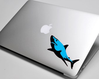 Shark Laptop / Macbook / Notebook Computer Decal Sticker