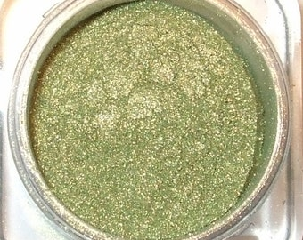 SHAMROCK GREEN Mineral Eye Shadow 3 Grams or 5 Grams Iridescent Golden Green