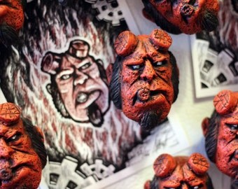 HELLBOY Limited Edition Collectible Magnet