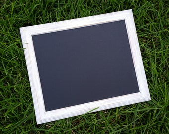 White distressed chalkboard frame- photo prop