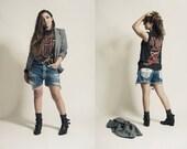 Native Print Boyfriend 501 Shorts