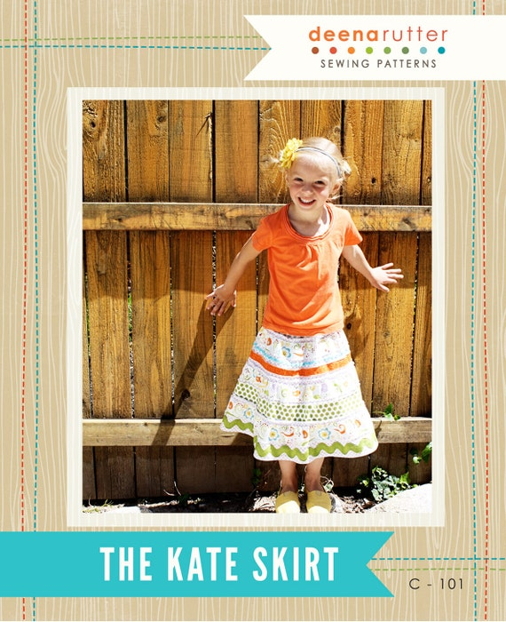 Kate Skirt  PATTERN ONLY