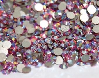 50 pcs Swarovski Crystal Flatbacks Rose AB 16ss (3.8 - 4.0mm) SS16 Xilion Rose 2028