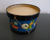 Vintage Children's Toy Drum