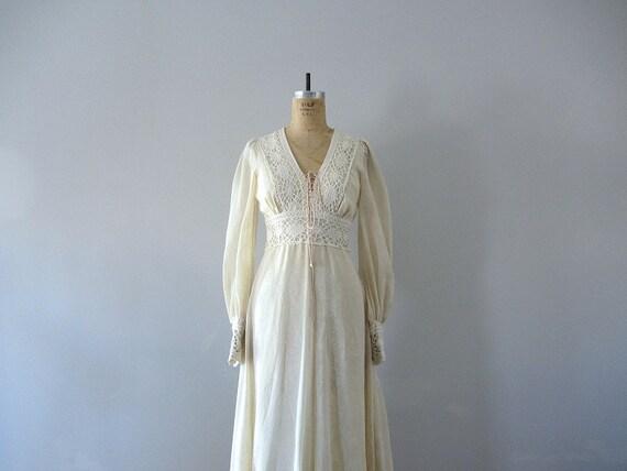 Vintage Gunne Sax Dress 1970s Wedding Dress By BlueFennel