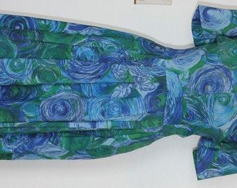 Vibrant Vintage Pat Nichols Bouffant Dress