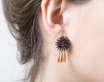 Flower Stud Earrings, stud earrings