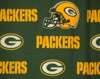NFL Greenbay Packers 100% Cotton Fabric V3