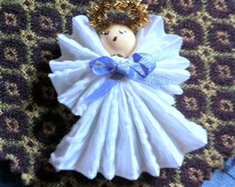 "Angel,One & Half Inch Handmade and Sized for the  ""Tree for Me"" Trees"