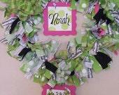 Custom Order Baby Wreath/ Hospital Door Hanger