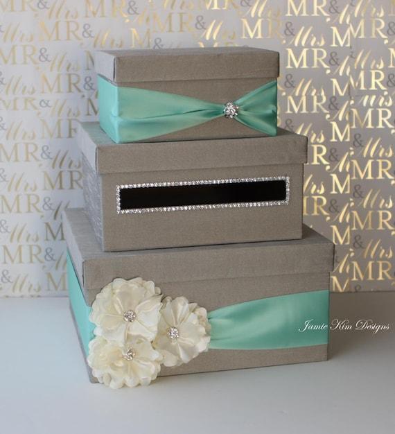Wedding Gift Card Basket : Wedding Card Box, Money Box, Gift Card Holder - choose your box ...