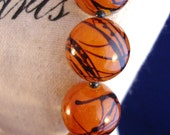 Large Amber Ball Necklace