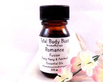 Aromatherapy Essential Oil - Romance Fusion Blend Essential Oil - Ylang Ylang Patchouli Pure Essential Oil - Fragrance Oil - Spa Supplies