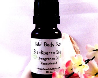 Fragrance Oil - Blackberry Sage Frangrant Oil - Bath Body Soapmaking Fragrance - Lotion Candle Potpourri Incense Scent Supply -Craft Supply