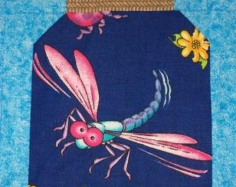 25 DRAGONFLIES Only for your Bug Jar Quilt Fabric Charms