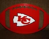 Chiefs Football Door Hanger - Kansas City Chiefs