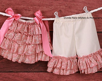 Infant  Ruffled Paisley Swing Top with Bloomers