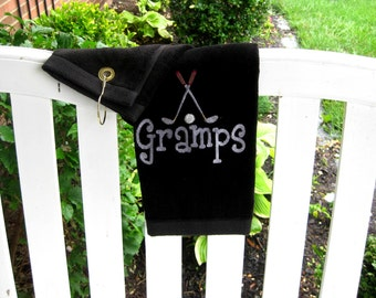 Golf Towel-personalized FREE