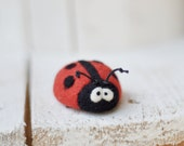 Brooch - Jewelry  - Animals brooch - Felt brooch - Felted animals - Girls accessories - Baby accessories - gift for her - childrens gifts