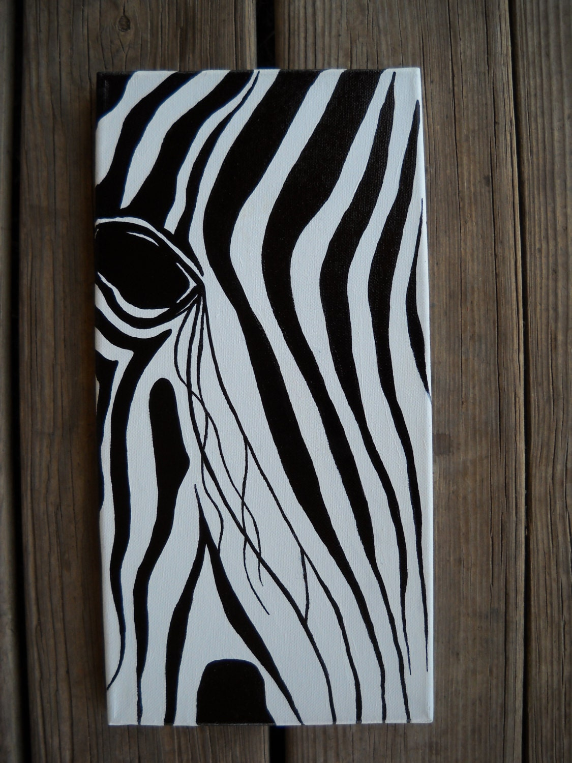 Zebra Painting Abstract Zebra Abstract Zebra by ...