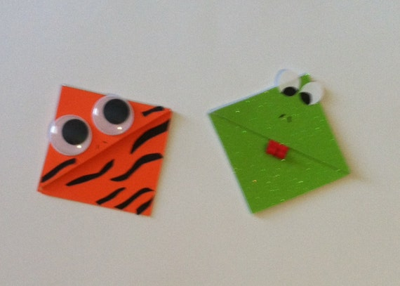 frog corner bookmarks items similar to children s tiger and frog corner 2054