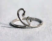 Fiddlehead Stacking Ring